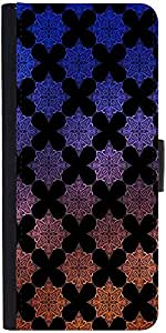 Snoogg Motif Black Shaded 2418 Designer Protective Back Case Cover For Asus Z...