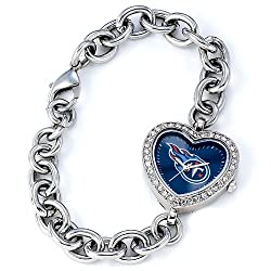 "Tennessee Titans NFL Ladies ""Heart Series"" Watch"