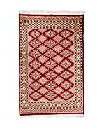 Navaei & Co. Alfombra Kashmir Rojo/Multicolor 151 x 92 cm