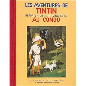 Tintin au Congo (Fac-similé, 1931)