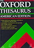 The Oxford Thesaurus: American Edition (0195073541) by Urdang, Laurence