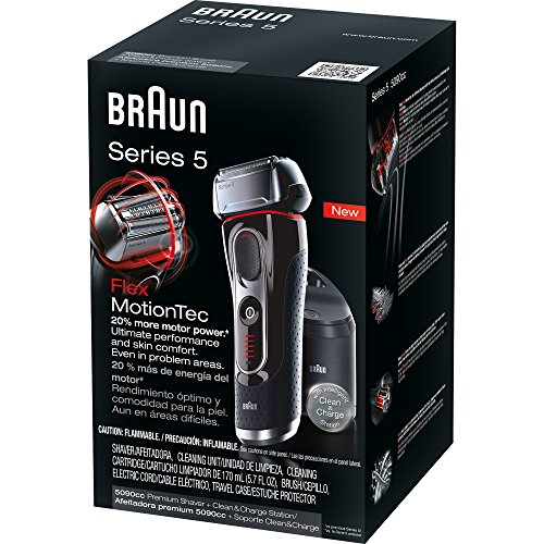 Braun Series 5 5090cc Electric Shaver With Cleaning Center 1 Count Series 5 5090cc Electric Shaver With Cleaning Center 1 Count