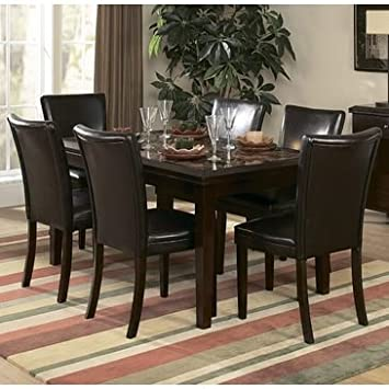 Homelegance Belvedere 5 Piece 60 Inch Dining Room Set