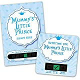 Mummys Little Prince room thermometer and bath thermometer set