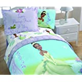Princess and the Frog Twin/Full Washable Light-Up Comforter