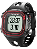 New Garmin Forerunner 10 GPS Sport Watch with Virtual Pacer (Black/red)- Non Retail Package