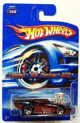2006 Hot Wheels Tooned 69 Pontiac Gto Card #155 1:64 Scale - 1