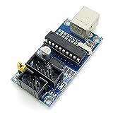 A Set AVR ISP USBtinyISP Programmer For Arduino Bootloader USB Download Interface