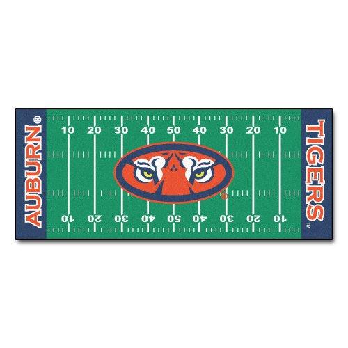 FANMATS NCAA Auburn University Tigers Nylon Face Football Field Runner