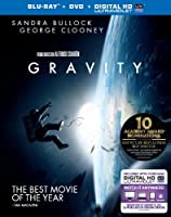 Gravity (Blu-ray + DVD + UltraViolet Combo Pack) by Warner Home Video