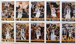 2013-14 Panini Hoops San Antonio Spurs Team Set 10 Cards - Tiago Splitter, Cory... by Hoops
