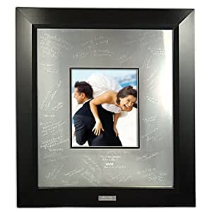 Cathy's Concepts Contemporary Signature Picture Frame with Engraved Photo Mat