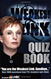 img - for Weakest Link Quiz Book book / textbook / text book