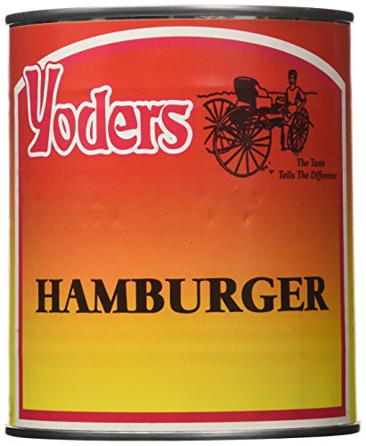Yoders Canned Hamburger Meat 28oz (Canned Bbq Beef compare prices)