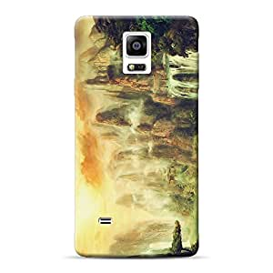 Mobile Back Cover For Samsung Galaxy Note 4 (Printed Designer Case)