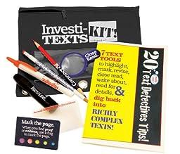 Teacher Peach Investi-TEXTs Kit! (Black)