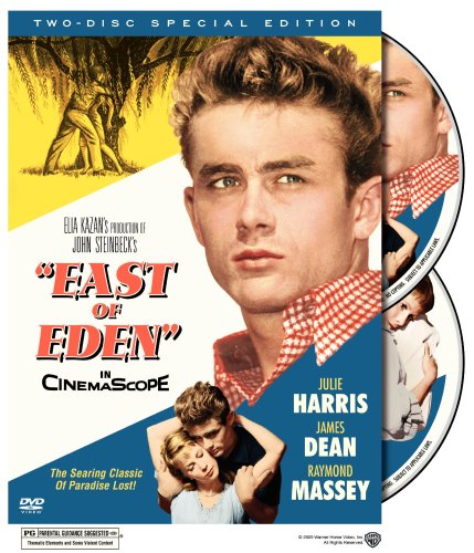 Cover art for  East Of Eden 2 Disc Special Edition DVD Starring Julie Harris, James Dean and Raymond Massey