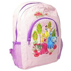 DISNEY PRINCESS GIRLS KIDS LARGE PADDED SCHOOL BACKPACK RUCKSACK TRAVEL BAG NEW