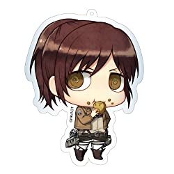 Contents-seed Attack on Titan Deka Key Ring Sasha Braus