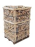 800 kg Brennholz Kaminholz reine Buche sauber auf der Palette