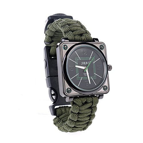 ultragood-outdoors-survival-multifunction-watches-survival-kit-braceletrope-whistle-compass-fire-sta