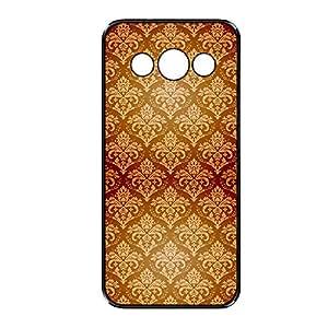 Vibhar printed case back cover for Samsung Galaxy Grand 2 Orangedamask