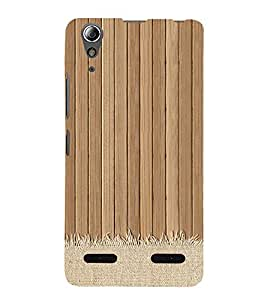 99Sublimation Wooden Mat 3D Hard Polycarbonate Back Case Cover for Lenovo A6000 Plus