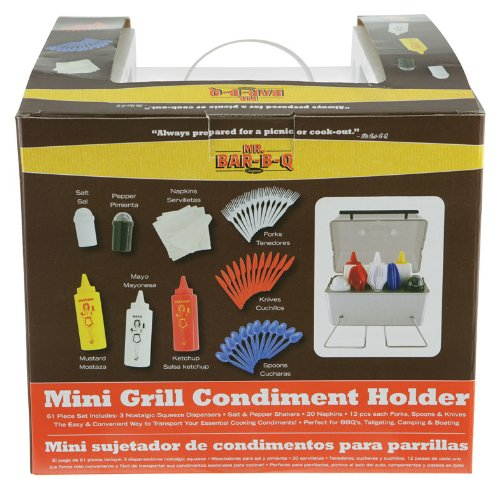 Mr. Bar-B-Q Table-top Condiment Holder (Discontinued by Manufacturer)