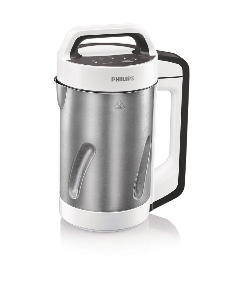 Philips Viva Collection HR2201/81 1.2-Litre Soup Maker (White/Cashmere Grey) low price
