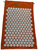The Hopi Direct Orange Shakti Yantra Mat (Bed of Nails Mat) 100% Cotton, Most Acupressure Points ...
