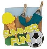 Karen Foster Design 6-Count Lil' Stacks, Summer Fun