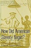 How Did American Slavery Begin & Great Awakening & Envisioning America & Salem Witch Hunt (145763936X) by Countryman, Edward