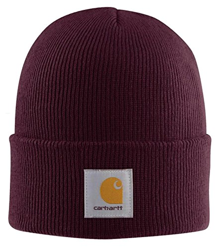Carhartt - Acrylic Watch Cap - Port Carhartt Iconic Watch Hat Rosso scuro