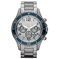 Marc By Marc Jacobs Rock Chronograph Grey Dial Stainless Steel Mens Watch MBM5028