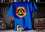 MetroRacing Hodaka T-Shirt - X-Large/Blue