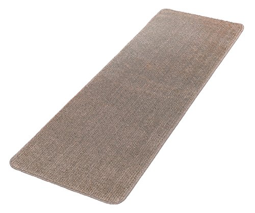 Softy Collection Beige Color Solid Mat Rug Plain Soft Quality Bath Mats Washable Rubber Back