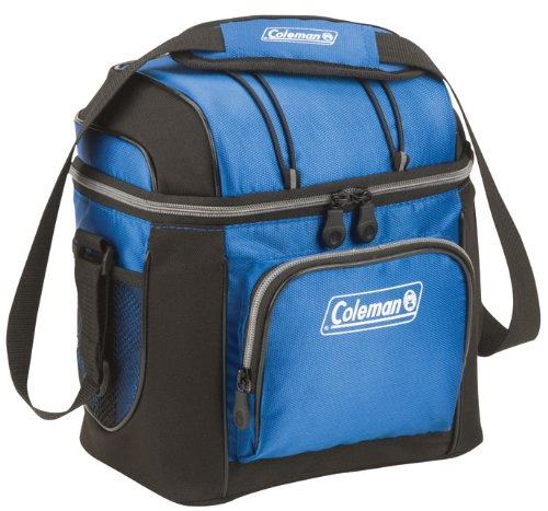 9 Can Cooler, Blue (Insulated Lunch Bag Coleman compare prices)