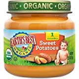 Earth's Best Organic Stage 1, Sweet Potatoes, 2.5 Ounce Jar (Pack Of 12)