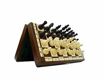 MAGNETIQUE, bois plein, jeu d'échecs