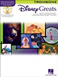 Hal Leonard Disney Greats for Trombone Book/CD Instrumental Play-Along