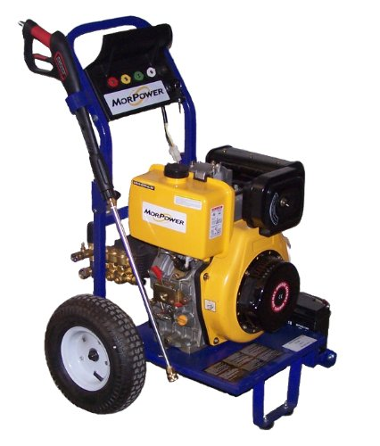 Morpower Pwh03600 Diesel Powered Electric Start 3600 Psi Pressure Washer