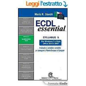 ECDL Essential - Modulo 3 - Elaborazione testi