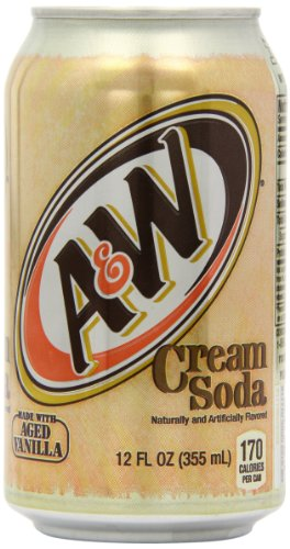 A&W Cream Soda 12 fl oz 355 ml (Pack of 3)
