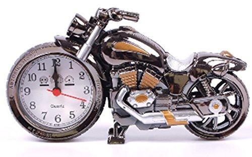 Amaranteen - Creative Motorcycle Shape Digital Alarm Clock Quartz