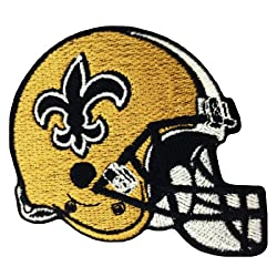 Orleans Saints Helmet Logo Embroidered Iron Patches