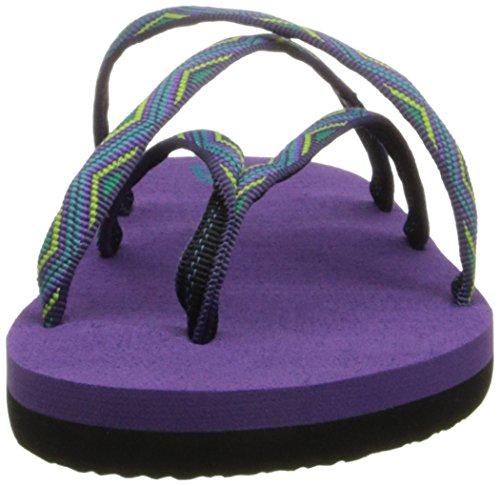 Teva Olowahu Kids Slide Sandal (Toddler/Little Kid/Big Kid) teva jansen leather kids sport shoe toddler little kid big kid