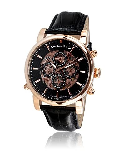 Boudier & Cie Reloj SK14H058 Negro 42 mm