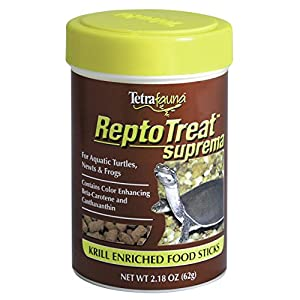 Tetra 29240 ReptoTreat Suprema Sticks, 2.18-Ounce, 185-ml