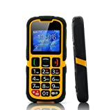 Senior Citizen Phone - Rugged, SOS, Quad Band GSM, Bluetooth - Best Reviews Guide