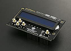 LCD Keypad Shield V2.0 For Arduino/This Product Includes A 2x16 LCD Display And 6 Momentary Push Buttons